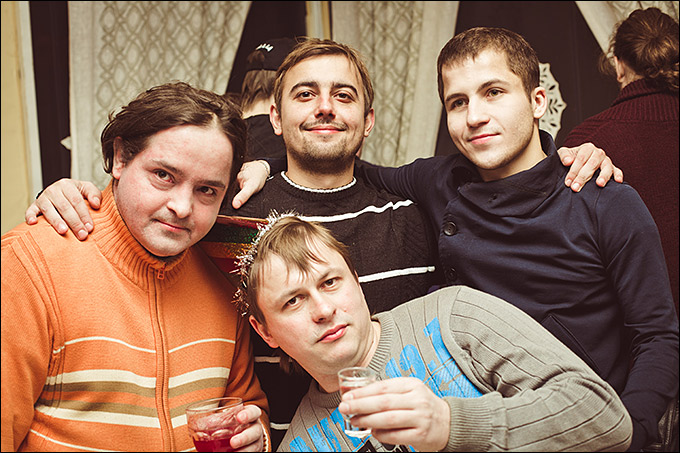 Антон Третяк, Денис Целых, Олег Лысенко и Алексей Третяк