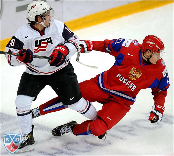 Андрей Миронов против сборной США