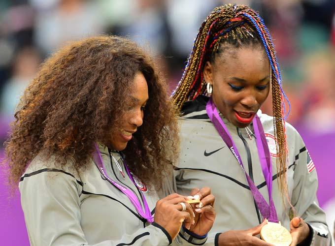 Серена и Винус Уильямс в третий раз взяли золото Олимпиады