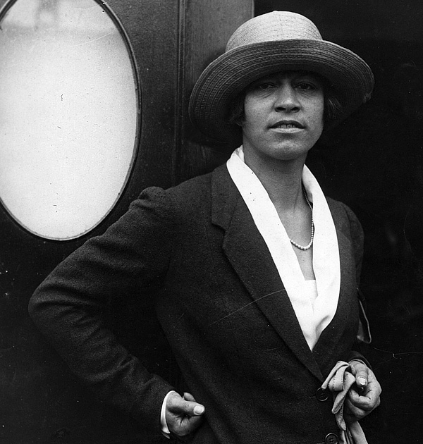 Норвежка Анна-Маргарет Бьорстедт, принявшая американское гражданство и вошедшая в историю под именем Молла Мэллори.