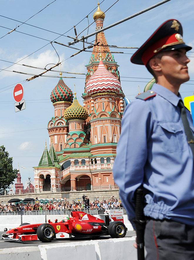 Казалось, что гонка Ф-1 вокруг Кремля только вопрос времени