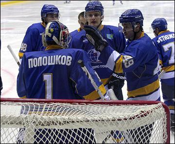 Иван Полошков с командой