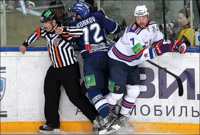 Сергей Коньков против Дмитрия Калинина
