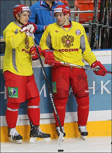 Вадим Шипачёв и Павел Дацюк