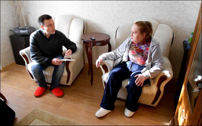 Игорь Рабинер и Валетнина Дмитриевна Коноваленко