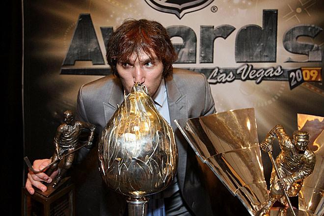 Александр Овечкин коллекционирует самые ценные трофеи НХЛ