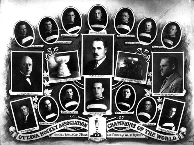 История Кубка Стэнли. Часть 35. 1926-1927. «Оттава Сенаторз».