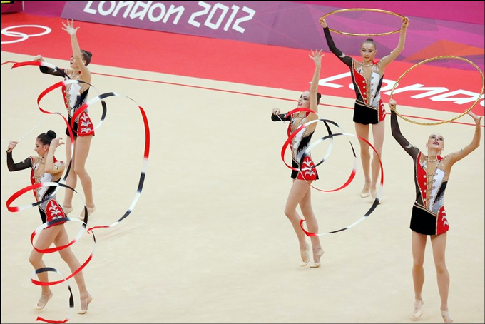 В квалификации Украина заняла шестое место и пробилась в финал олимпийского турнира