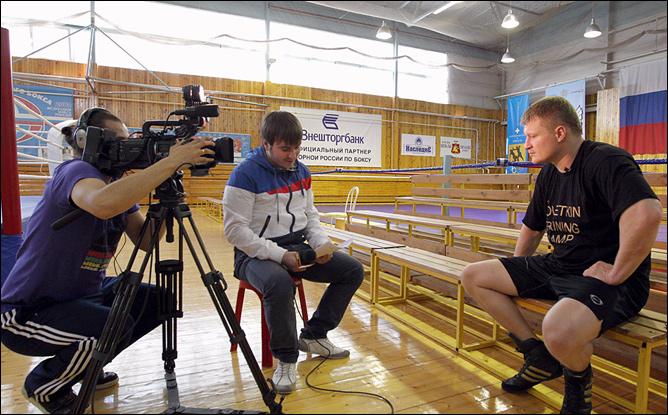 """Александр Поветкин отвечает на вопросы читателей """"Чемпионат.com"""""""