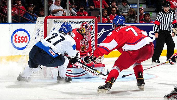 31 декабря 2011 года. Эдмонтон. Молодежный чемпионат мира. Групповой этап. Чехия – Финляндия – 0:4