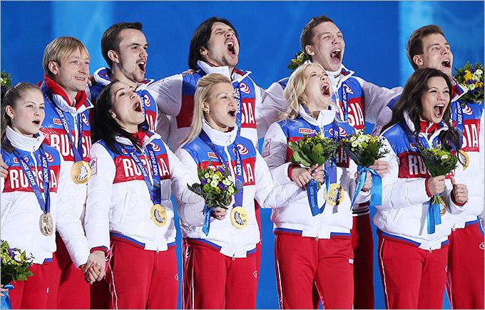Сборная России выиграла командный турнир