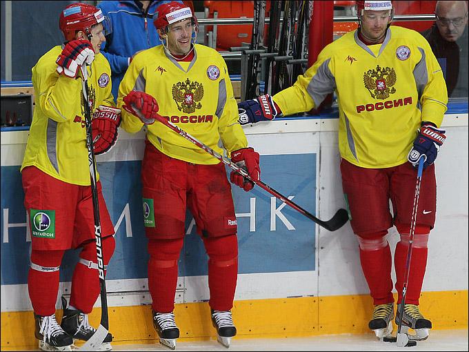 Вадим Шипачёв, Павел Дацюк и Илья Ковальчук