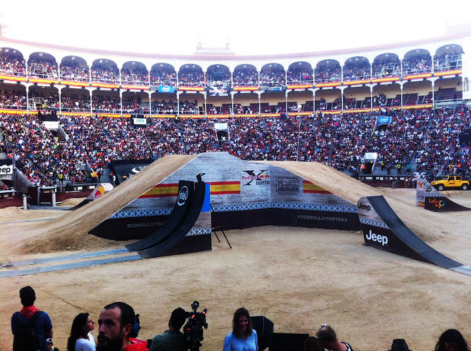 Red Bull X-Fighters в Мадриде