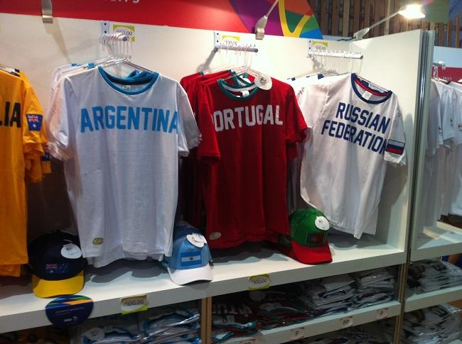 Ассортимент олимпийского магазина