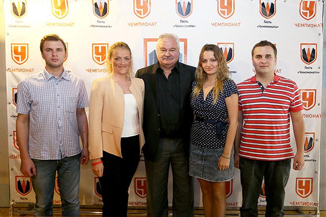 Владимир Плющев и журналисты «Чемпионата»