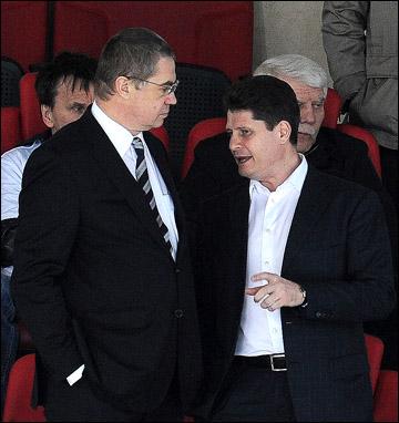 Михаил Тюркин (справа) и Александр Медведев