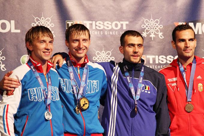 Решетников и Ковалёв на чемпионате мира в Будапеште