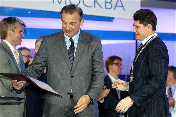 Михаил Тюркин и Владислав Третьяк