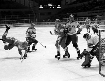 16 февраля 1968 года. Гренобль. X зимние Олимпийские игры. СССР — Финляндия