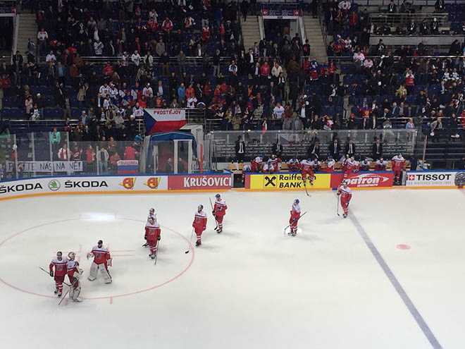 Чехи покидают турнир