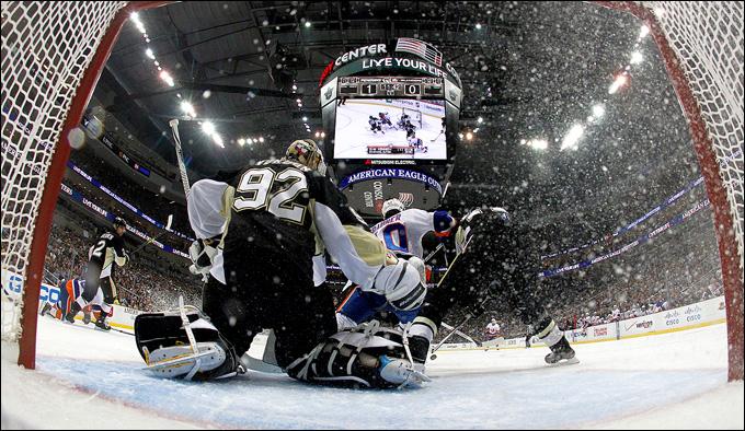 9 мая 2013 года. Питтсбург. Плей-офф НХЛ. 1/8 финала. Матч № 5. Вокоун безупречен!