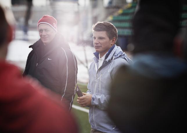 """Андрей Аршавин выбрал первого российского финалиста программы Nike """"Шанс"""""""