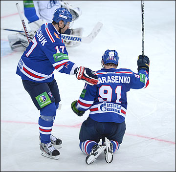Илья Ковальчук и Владимир Тарасенко