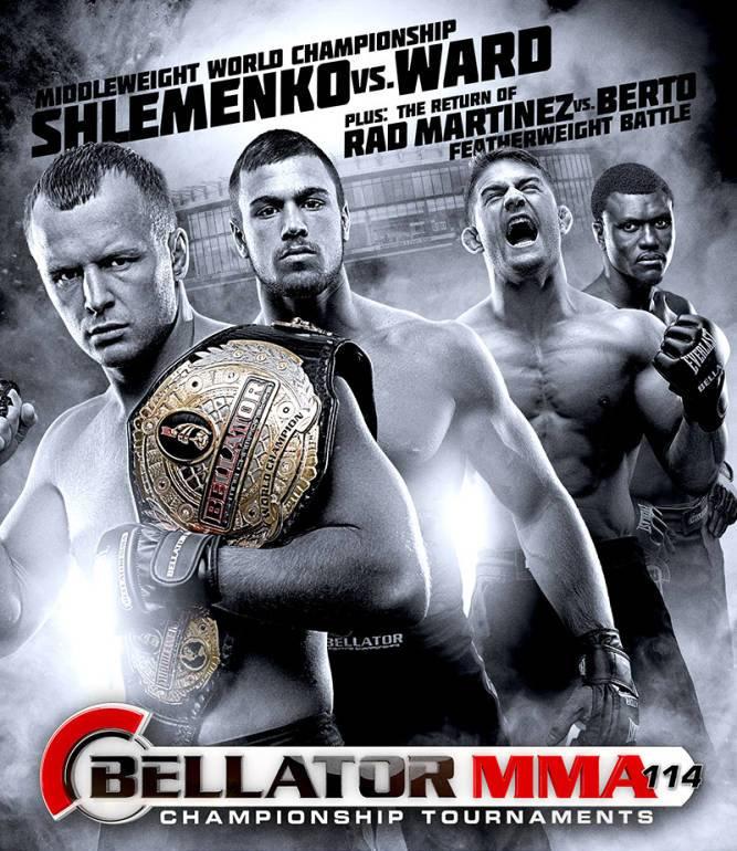 Постер к турниру Bellator 114