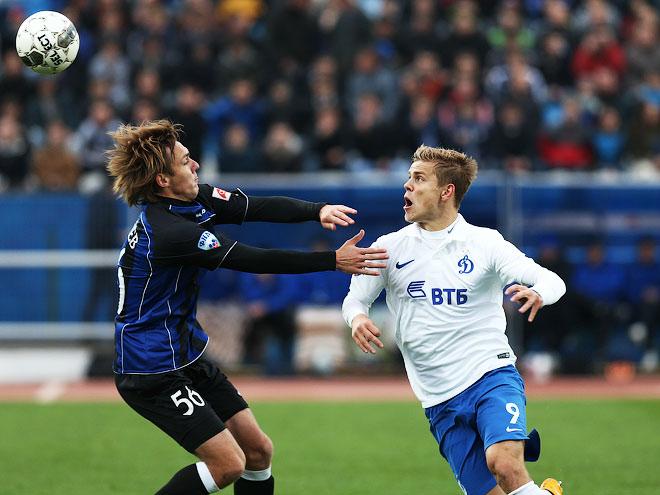 «Динамо» проиграло «Шиннику» и вылетело из розыгрыша Кубка России