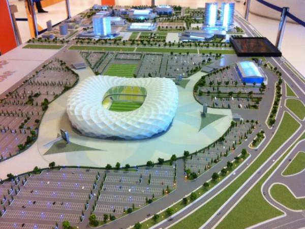 Губернатор Ткачёв показал один из проектов нового стадиона в Краснодаре
