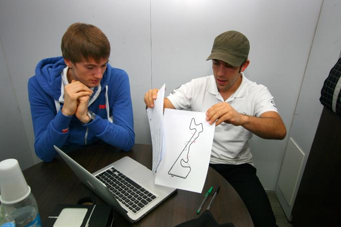 Николай Марценко и Феликс Портейро