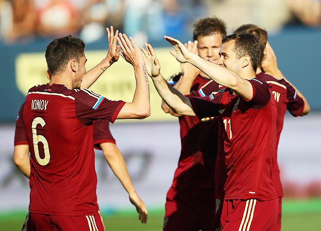 Россия — Словакия — 1:0. 26 мая 2014 г.