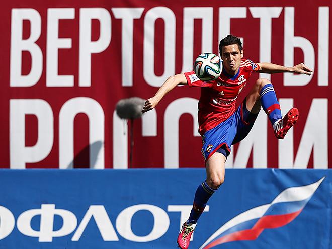 """ЦСКА пытается сломить сопротивление """"Томи"""""""
