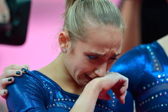 Виктория Комова на Играх плакала дважды: от радости и от огорчения