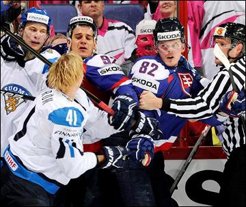 Финляндия против Словакии