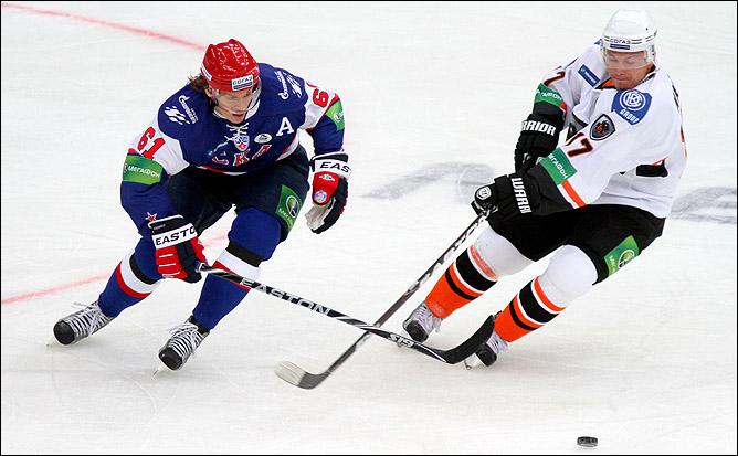 """СКА и """"Лев"""": второй раз в сезоне"""