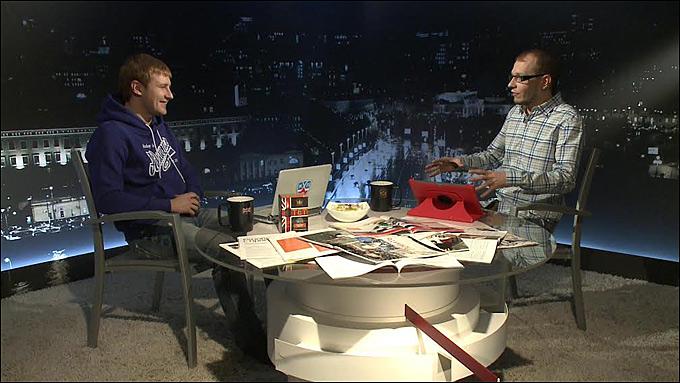 Александр Рогулев и Роман Чернявский