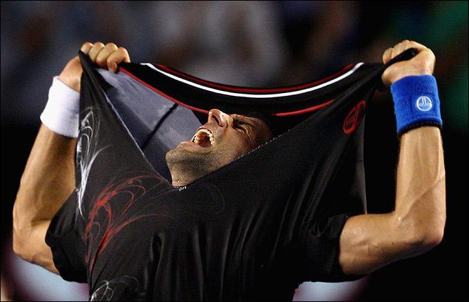 Australian Open. Финал. Новак Джокович выиграл марафон у Рафаэля Надаля