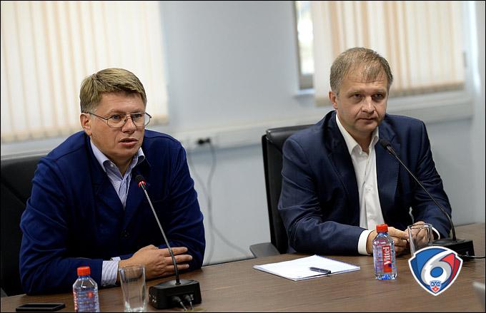 Дмитрий Курбатов и Александр Поляков