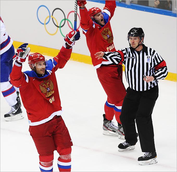 Голы Радулова и Ковальчука и другие фото с матча Россия — Норвегия