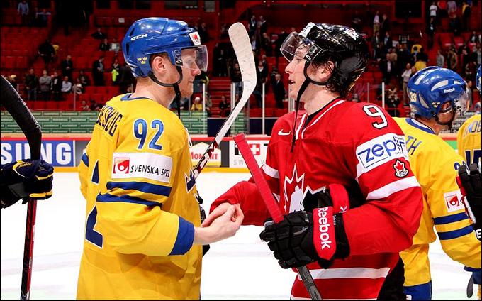 Канада против Швеции