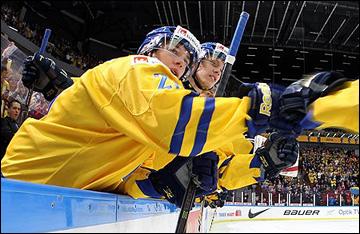 31 декабря 2013 года. Мальмё. Молодёжный чемпионат мира. Групповой этап. Швеция — Россия — 3:2.