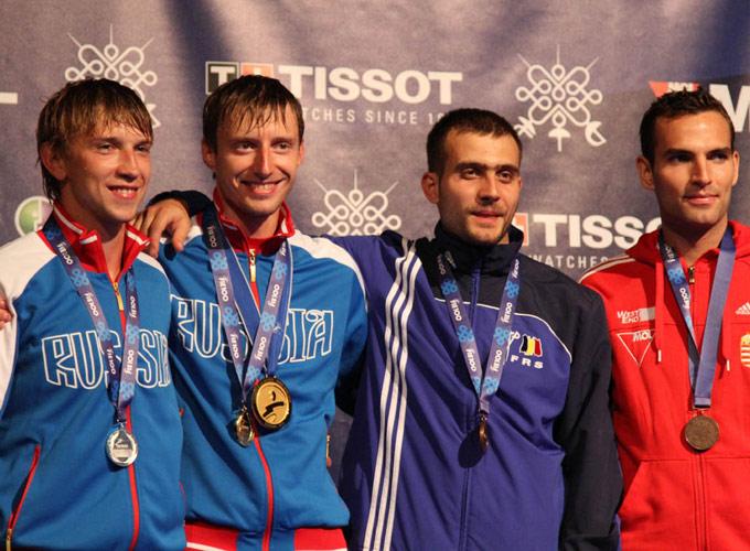 Вениамин Решетников принёс России первое золото после Позднякова