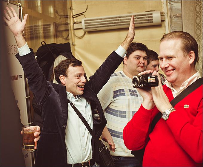 Игорь Рабинер и Алексей Золин