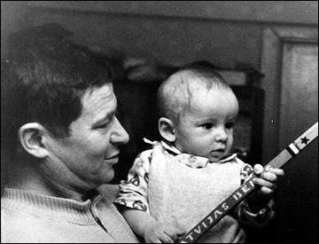 Артем Захаров с отцом
