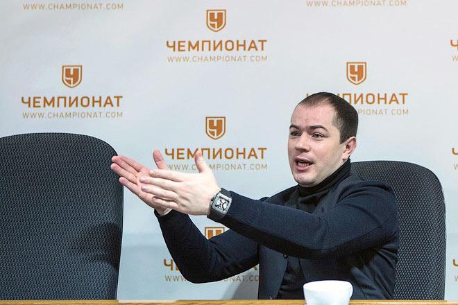 Генеральный директор «Спартака» Роман Асхабадзе
