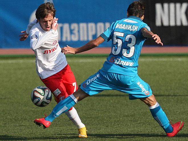 Сегодня Джано сыграл за молодёжную команду «Спартака» против «Зенита»