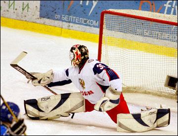 Андрей Василевский в молодёжной сборной России