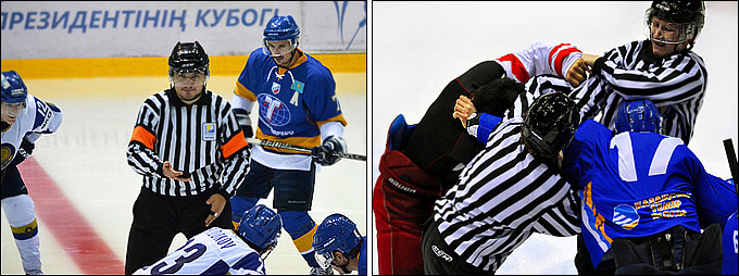 Антонов — о непростой доле хоккейного судьи