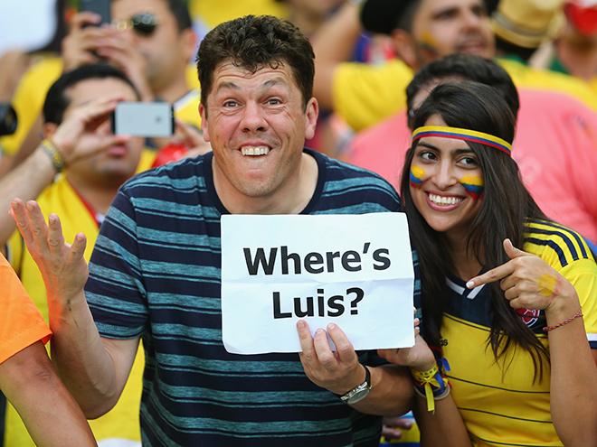 «Где Суарес?»